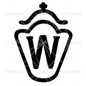 Aufkleber Westfalen Warmblut