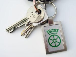 Schlüsselanhänger einseitig bedruckt