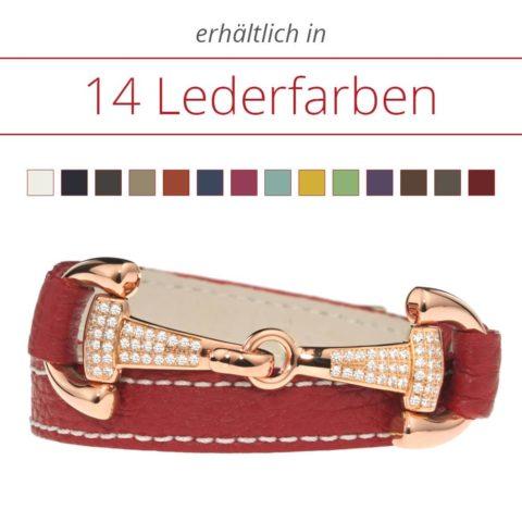 Armbänder aus hochwertigem Leder