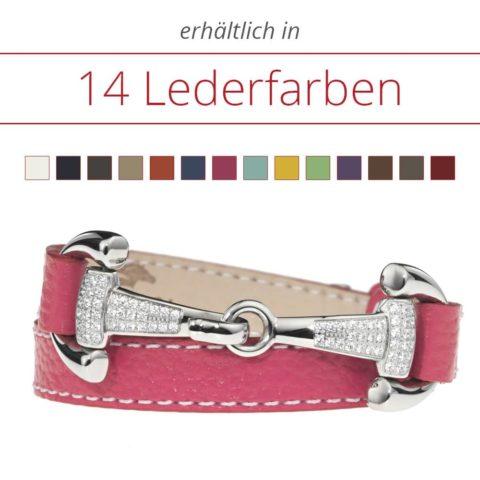 Luxuriöses Armband mit Zirkonia